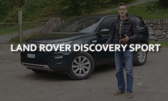 Тест-драйв Land Rover Discovery Sport 2017