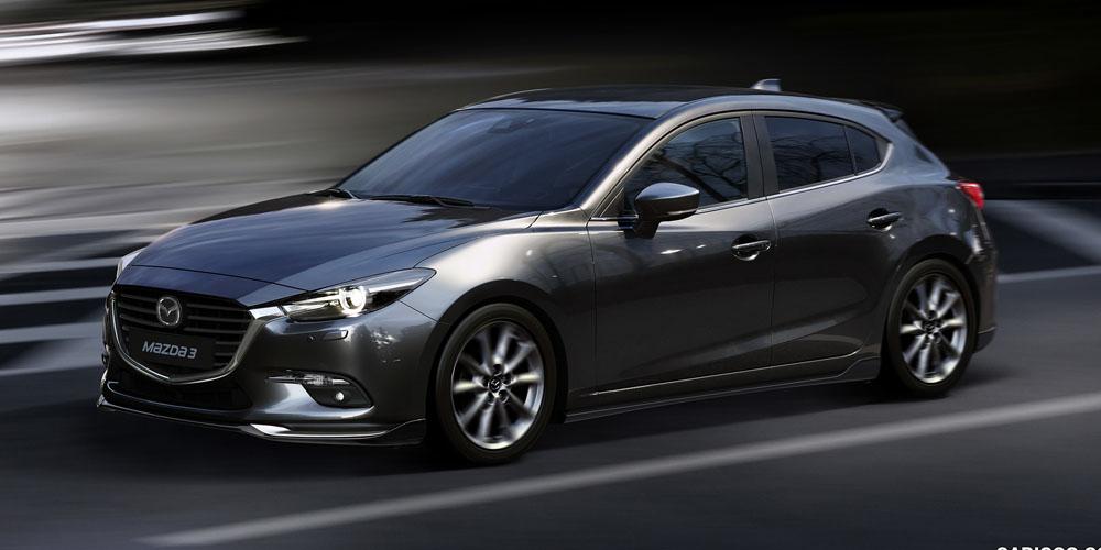 Mazda 3 Хэтчбек 2018: комплектации и цены (новые), фото