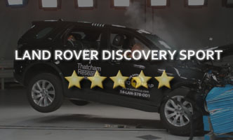 Краш-тест Land Rover Discovery Sport 2017