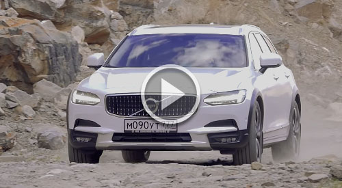 Тест-драйв Volvo V90 Cross Country